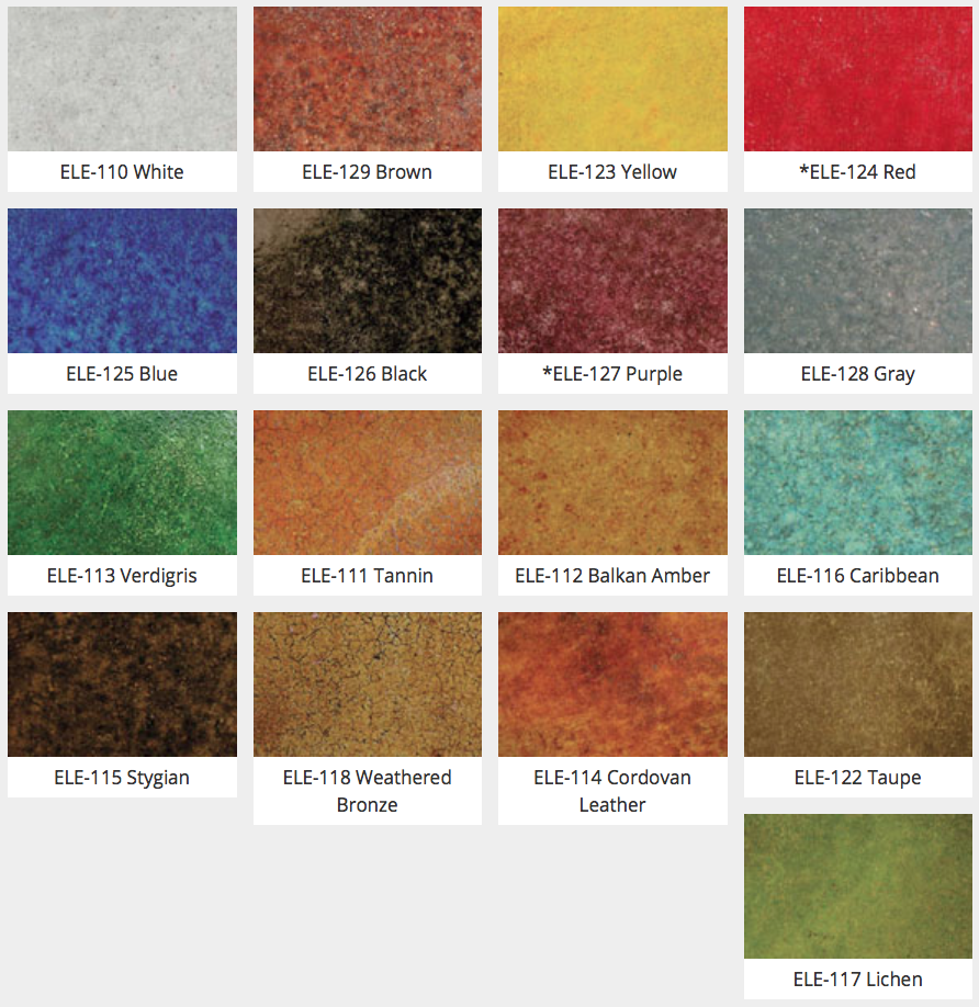 Erfield Color Elements Transpa Concrete Stain