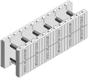 "Fox Blocks 8"" ICF Straight Block"
