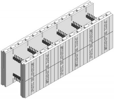 "Fox Blocks 6"" ICF Straight Block"