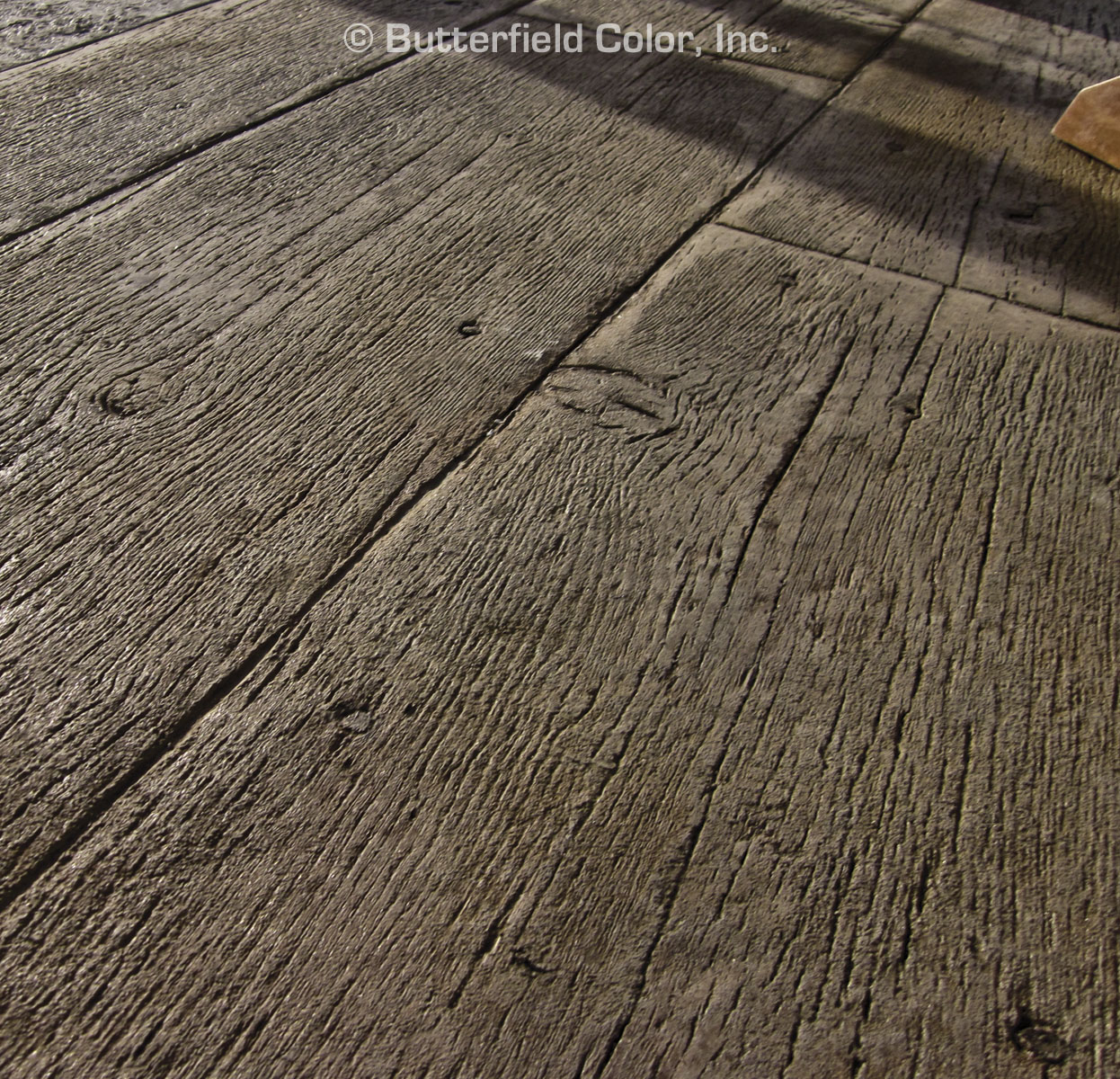 Falls Bridge Wood Plank Concrete Stamps